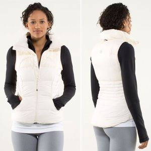 Lululemon Fluffin' Awesome Vest Angel Wing Down 6